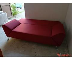 Németországból behozott szép állapotban levo kihúzhatós szövet kanapé