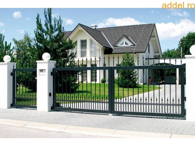 Modern Fém kerítések  és kapuk - 2