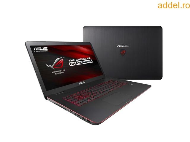 Laptop ASUS ROG G771JW-T7022D, Intel® Core™ i7-4720HQ pana la 3.6GHz - 1