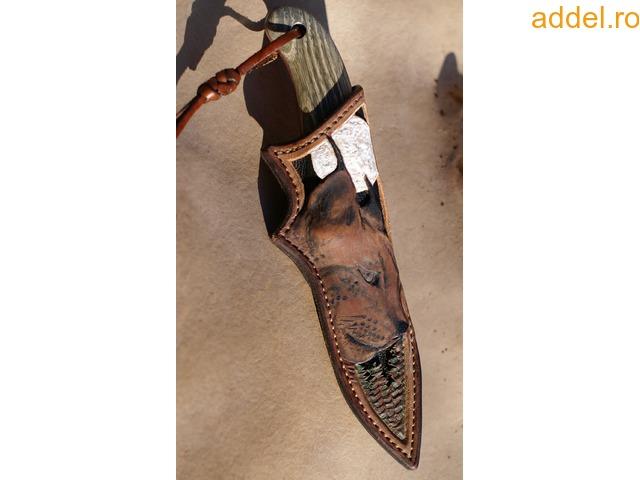 Egyedi,kézműves vadász-, túra-kések - 2