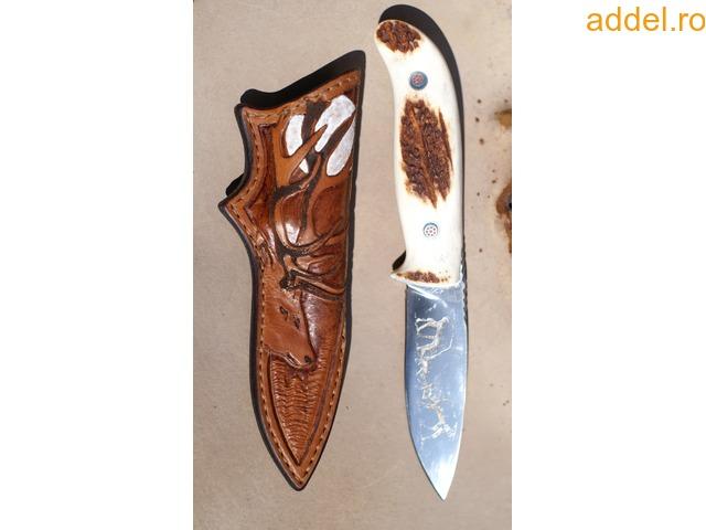 Egyedi,kézműves vadász-, túra-kések - 3