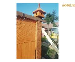 Székelykapuk, kopjafák, fafaragás,faragott bölcső, hagyományőrzés, - Kép 3